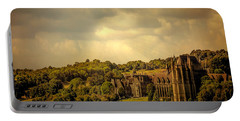 Portable Battery Charger featuring the photograph Lancing College by Chris Lord