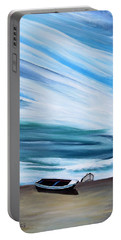 Land Meets Sky Portable Battery Charger by Marilyn  McNish