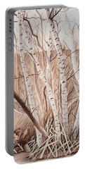 Land Of The Silver Birch Portable Battery Charger