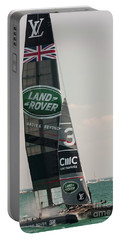 Land Rover Bar Portable Battery Charger by David Bearden