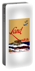 Land With The Us Marines Portable Battery Charger