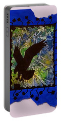 Landing Eagle Silhouette Portable Battery Charger