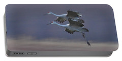 Portable Battery Charger featuring the photograph Landing Gear Down by Shari Jardina