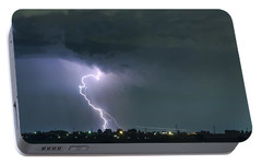 Portable Battery Charger featuring the photograph Landing In A Storm by James BO Insogna