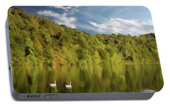 Portable Battery Charger featuring the photograph Landingville Lake Pennsylvania by David Dehner