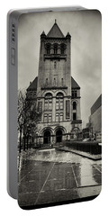 Landmark Center St. Paul Portable Battery Charger by Susan Stone