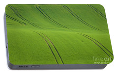 Portable Battery Charger featuring the photograph Landscape 5 by Jean Bernard Roussilhe