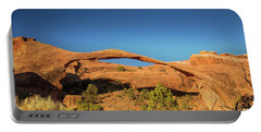 Landscape Arch Sunrise Portable Battery Charger