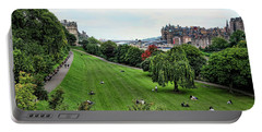 Landscape Edinburgh  Portable Battery Charger