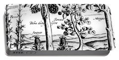 Landscape, Illustration From India Orientalis, 1598  Portable Battery Charger