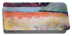 Landscape In Abstraction Portable Battery Charger