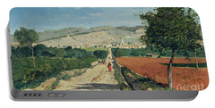Landscape In Provence Portable Battery Charger