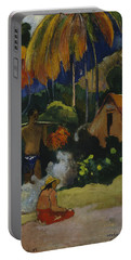 Landscape In Tahiti  Portable Battery Charger