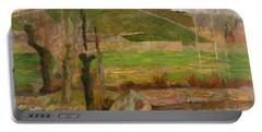 Landscape Near Pont Aven Portable Battery Charger