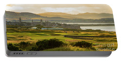 Landscape Of St Andrews Home Of Golf Portable Battery Charger