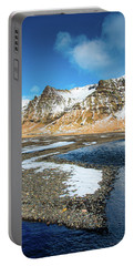 Portable Battery Charger featuring the photograph Landscape Sudurland South Iceland by Matthias Hauser