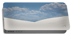 Landscapes Of White Sands 11 Portable Battery Charger