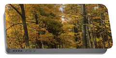 Portable Battery Charger featuring the photograph Lane by Pat Purdy