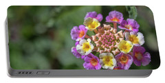 Lantana In Bloom Portable Battery Charger