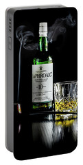 Whiskey And Smoke Portable Battery Charger