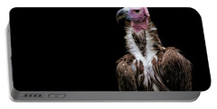 Portable Battery Charger featuring the photograph Lappet-faced Vulture - Africa - African Vulture - Nubian Vulture by Jason Politte