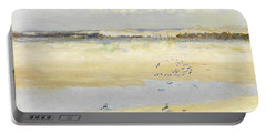 Lapwings By The Sea Portable Battery Charger