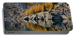 Larch Reflection In Enchantments Portable Battery Charger