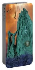 Lares Compitales - Guardian Spirits Of The Crossroads Portable Battery Charger