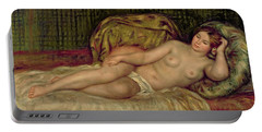 Large Nude Portable Battery Charger