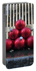 Large Red Ornaments Portable Battery Charger