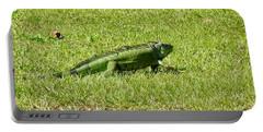 Large Sanibel Iguana Portable Battery Charger