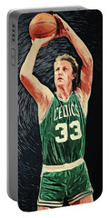 Larry Bird Portable Battery Chargers