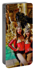 Las Vegas Showgirls Portable Battery Charger