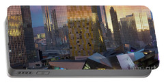 Las Vegas Sunrise Reflection Portable Battery Charger