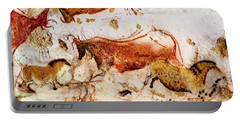 Lascaux Cow And Horses Portable Battery Charger
