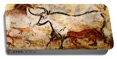Lascaux Hall Of The Bulls - Aurochs Portable Battery Charger