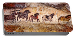 Lascaux Horses Portable Battery Charger