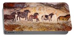 Lascaux Horses Portable Battery Charger