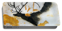 Lascaux Megaceros Deer Portable Battery Charger