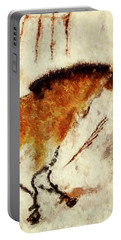 Lascaux Prehistoric Horse Detail Portable Battery Charger