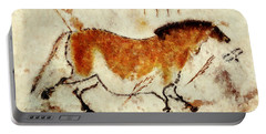 Lascaux Prehistoric Horse Portable Battery Charger