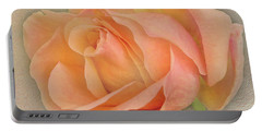 Last Autumn Rose Portable Battery Charger by Jacqi Elmslie