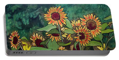 Last Garden Portable Battery Charger by Ron Richard Baviello