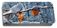 Last Leaves Portable Battery Charger by Karen Stahlros