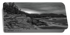 Last Light At Otter Cliff Portable Battery Charger
