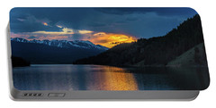Last Light At Summit Cove Portable Battery Charger