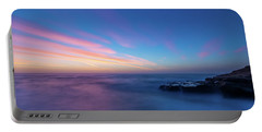 Last Light In April, Sunset Clifs Portable Battery Charger
