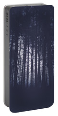 Portable Battery Charger featuring the photograph Last Light In The Forest by Shane Holsclaw