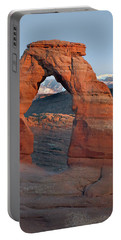 Last Light On Delicate Arch  Portable Battery Charger