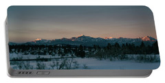 Last Light On Pagosa Peak Portable Battery Charger by Jason Coward
